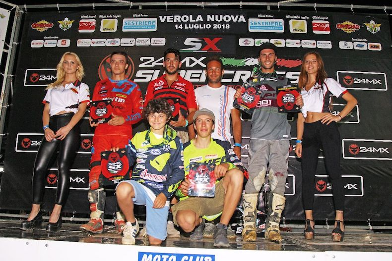 Vincono: Superfinale Pellegrini, 450cc. Vongsana, 250cc. Zonta, 125cc. Bonifacio, 85cc. Pavan