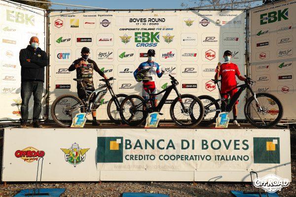 Podio Campioni 2020 - da sx Riccardo Boschi (EX-OPEN) Andrea Pignotti (Under 35) Roberto Fabbri (Over 35)